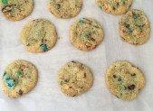 Cookies aux M&M's … à tomber !