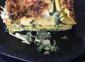 Lasagnes épinards & ricotta